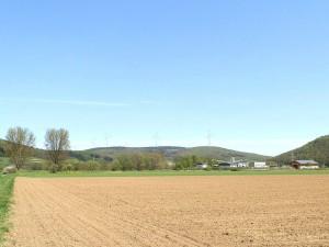 Wollenberg aus Richtung Elmshausen, Aufnahmen und Montage von IBU, T. Mattern, bearb. M. Meinel