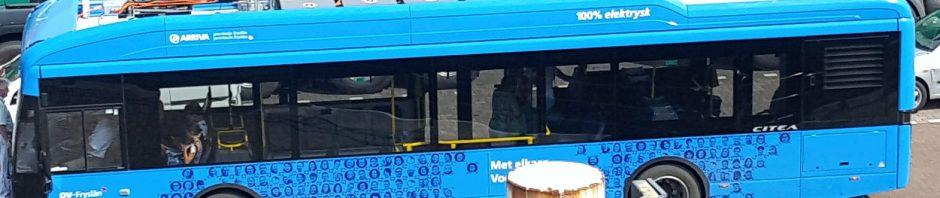 E-Bus auf Vlieland